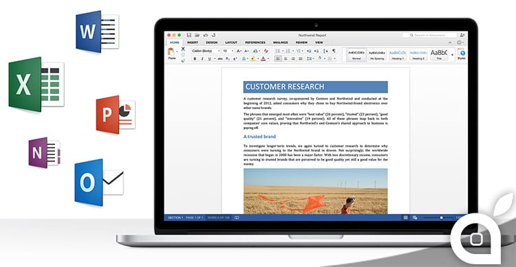 Microsoft rilascia Office for Mac 2016 Preview