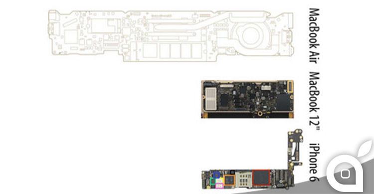 scheda logica macbook