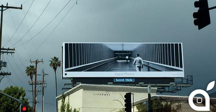 La campagna pubblicitaria 'Shot on iPhone 6' di Apple arriva su riviste, cartelloni pubblicitari e altro ancora