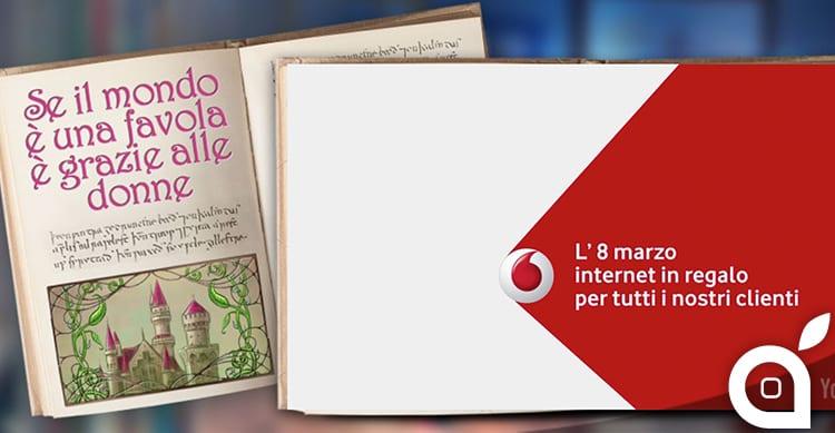 Vodafone regala internet a tutti i propri clienti per l'8 Marzo!