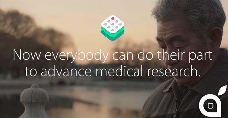 Apple presenta ResearchKit, che offre ai ricercatori medici gli strumenti per rivoluzionare gli studi clinici