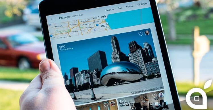 Airbnb finalmente disponibile anche per iPad, con una nuova interfaccia utente