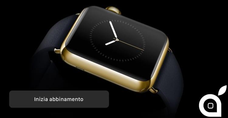 Ecco l'animazione che apparirà quando abbineremo l'Apple Watch all'iPhone [Video]