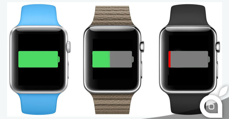 apple watch batteria