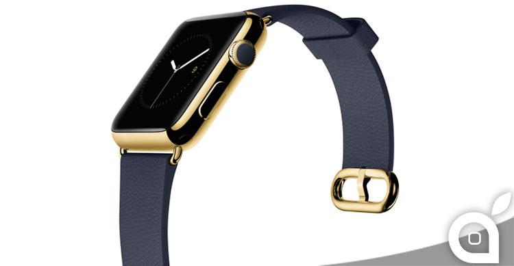 apple watch edition restituzione