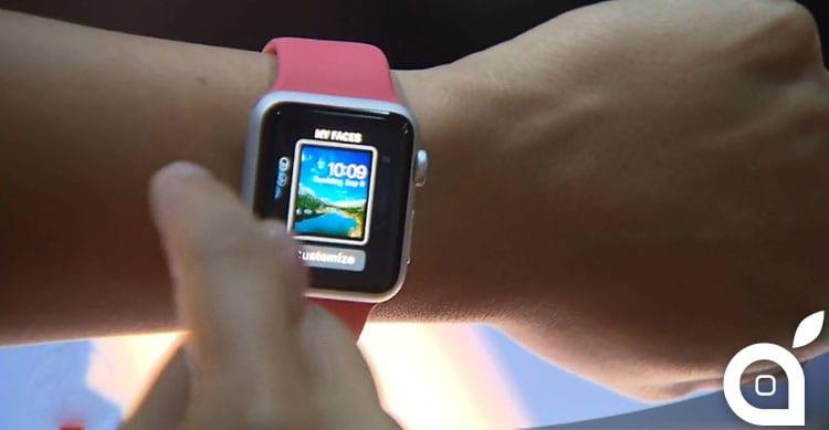 Rimossa la possibilità di personalizzare lo sfondo su Apple Watch