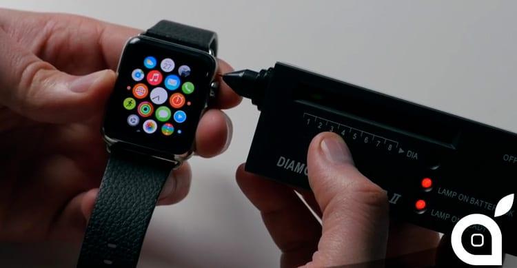 Il display di Apple Watch è davvero in vetro zaffiro? Ecco la risposta [Video]