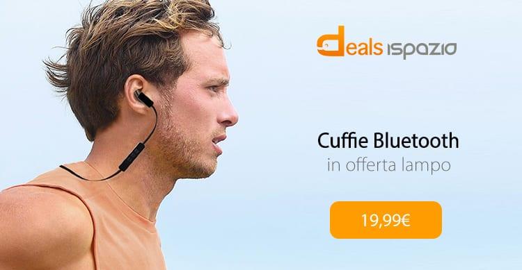 Cuffie Bluetooth TaoTronics in offerta lampo, solo per oggi, con codice sconto iSpazio