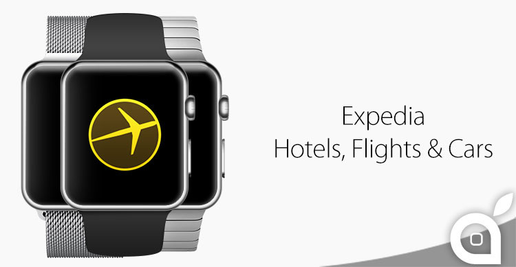 expedia per apple watch