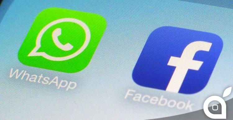 Facebook inizia ad integrare WhatsApp nell'app ufficiale