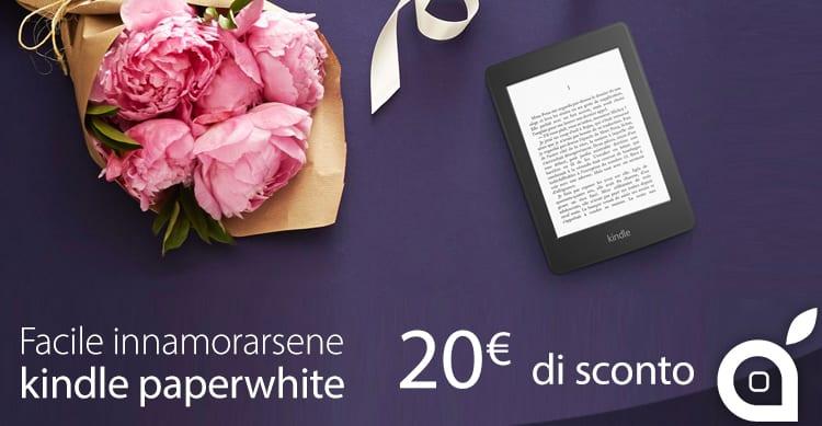 Amazon sconta il Kindle Paperwhite per la Festa della Mamma: 20€ in meno fino al 10 Maggio