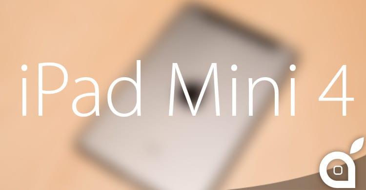 E' questa la scocca di iPad Mini 4? [Video]
