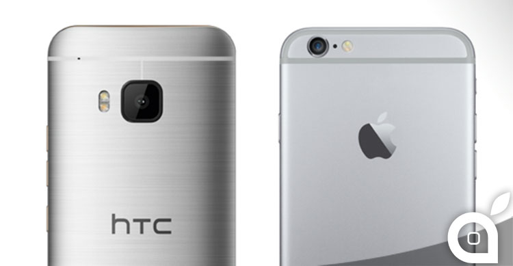 iphone 6 vs htc one m9 drop test