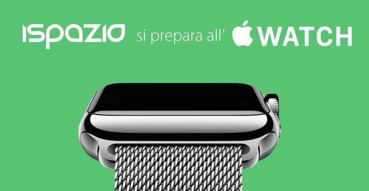 iSpazio si prepara all'Apple Watch: Ecco la sezione dedicata all'orologio ed al suo App Store