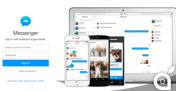 Facebook lancia la versione web standalone di Messenger. Disponibile anche l'app per Mac