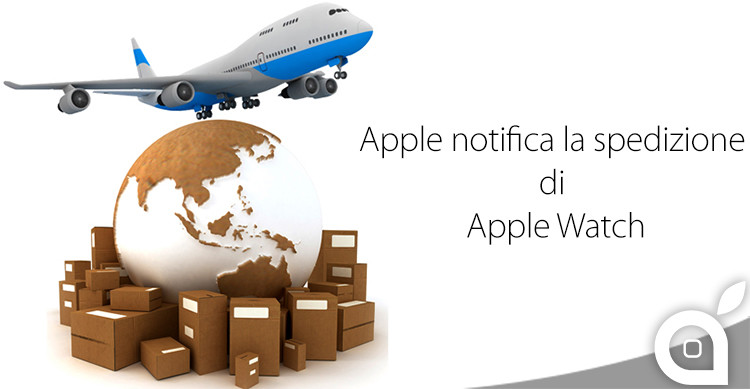 notifica spedizione apple watch