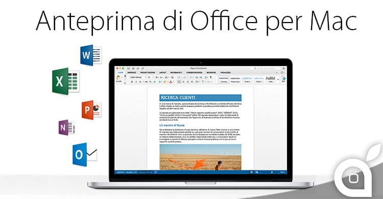 Disponibile la nuova preview di Microsoft Office 2016 per Mac