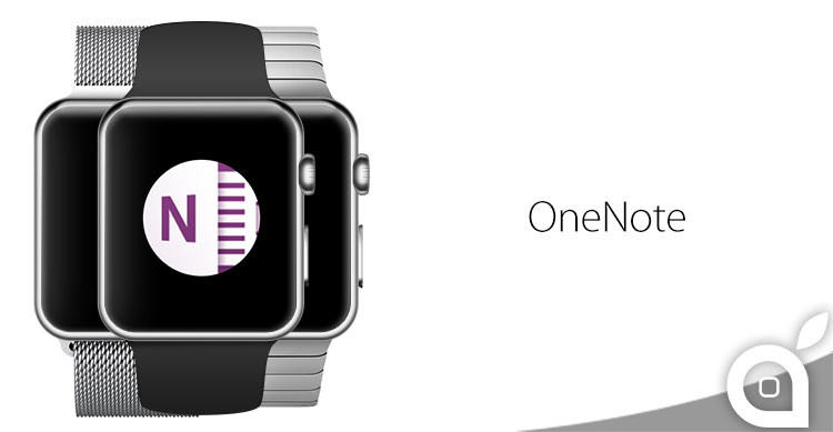 onenote per apple watch