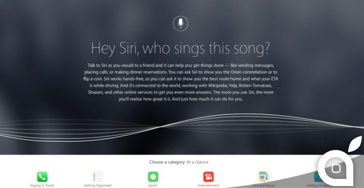 Apple pubblica una nuova pagina dedicata a Siri con diversi consigli per il suo utilizzo