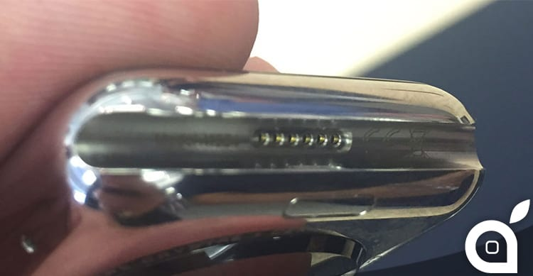 """Ecco a cosa serve la """"porta segreta"""" di Apple Watch"""