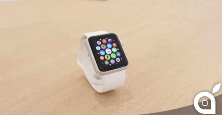 posizionamento personalizzato icone apple watch