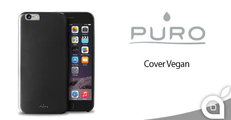 Puro Cover Vegan, elegante protezione in ecopelle per i nostri iPhone | La Recensione di iSpazio