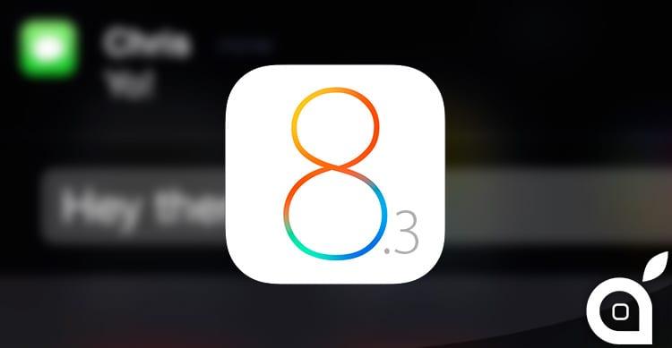 Risposta Rapida: ecco i miglioramenti apportati da iOS 8.3