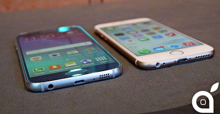 Samsung e il suo difficile rapporto con la simmetria: differenze di design tra iPhone 6 e Galaxy S6