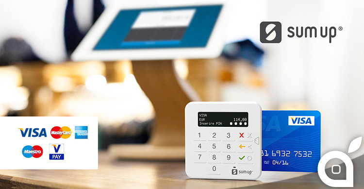 Sumup to provide pos business bitfeed of credit cards and debit cards in a simple secure and convenient through the installation of the specific app and the usage of the reader pin sumup reheart Gallery