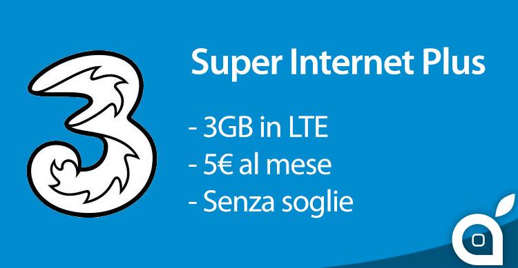 super-internet-plus-tre-italia