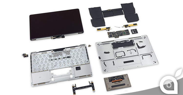 teardown macbook 12 pollici