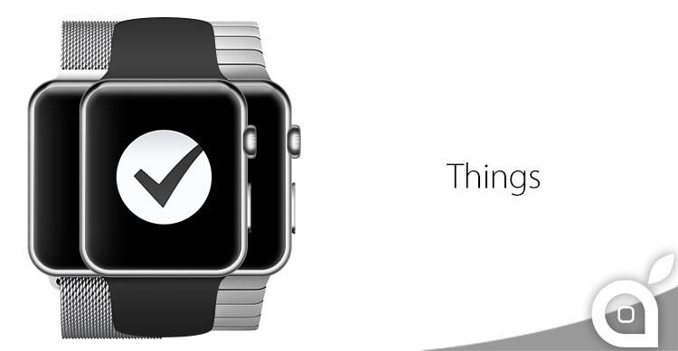 things per apple watch