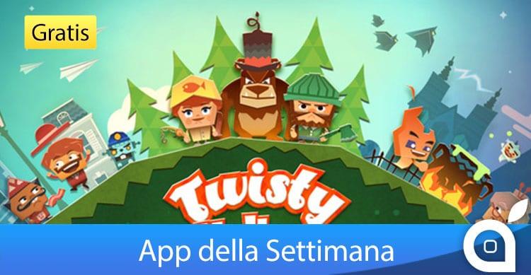 """Apple rende gratuito """"Twisty Hollow"""" per 7 giorni con l'App della Settimana. Approfittatene!"""