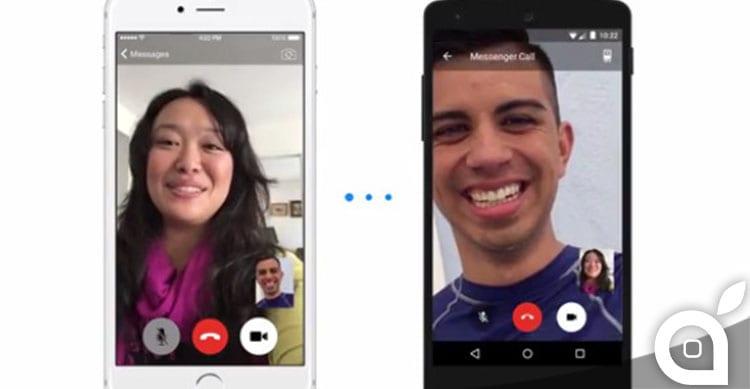 Facebook inizia ad attivare le videochiamate su Messenger [Video]