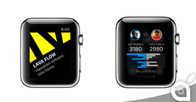 yahoo su apple watch