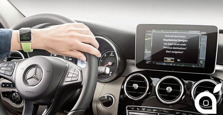 Mercedes-Benz lancerà in autunno la sua app per Apple Watch