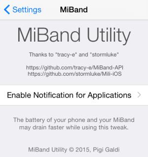 MiBand-Utility