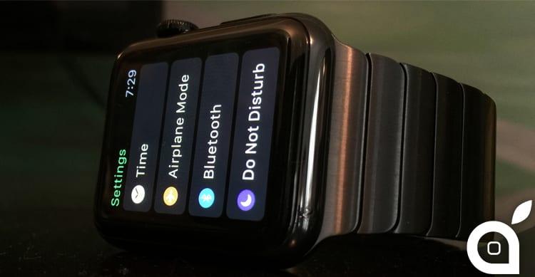 Apple presenterà a breve un nuovo ed importante aggiornamento software per Apple Watch