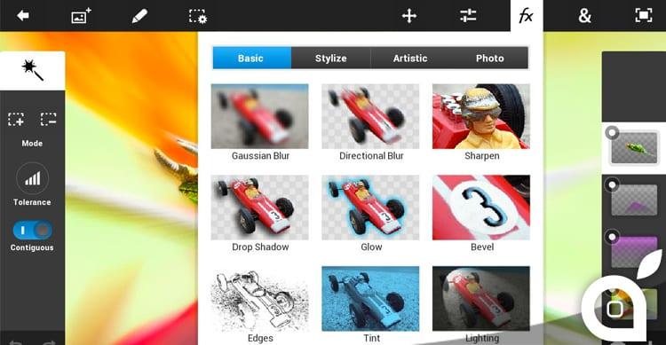 Adobe rivela nuovi dettagli sul Project Rigel, l'applicazione di fotoritocco che sostituirà Photoshop Touch