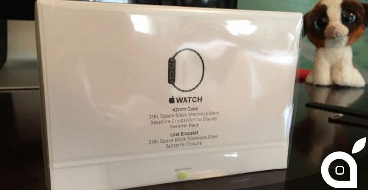 Apple Watch con cinturino Space Black arriva sui polsi degli utenti [Foto]