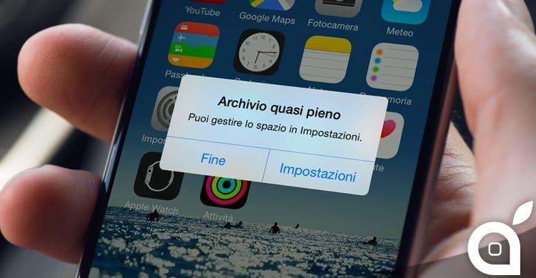 Hai terminato lo spazio? Ecco dei pratici consigli per liberare memoria nel tuo iPhone