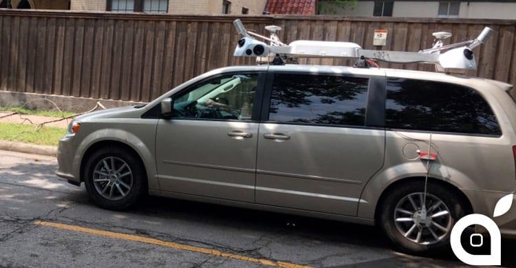 Svelato il mistero: le auto di Apple stanno raccogliendo dati per l'applicazione Mappe