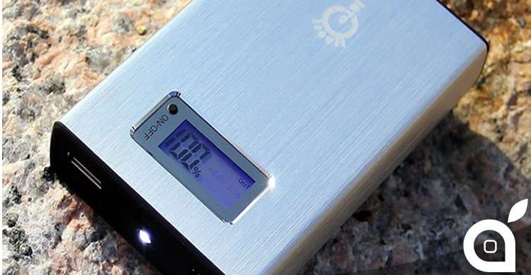 Batteria Esterna Intocircuit 11.200 mAh: compatta, in alluminio e con Display LCD | Recensione iSpazio
