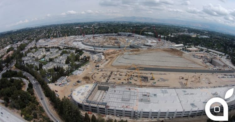 Nuovo video sul Campus 2 di Apple: iniziati i lavori dell'auditorium [Video]