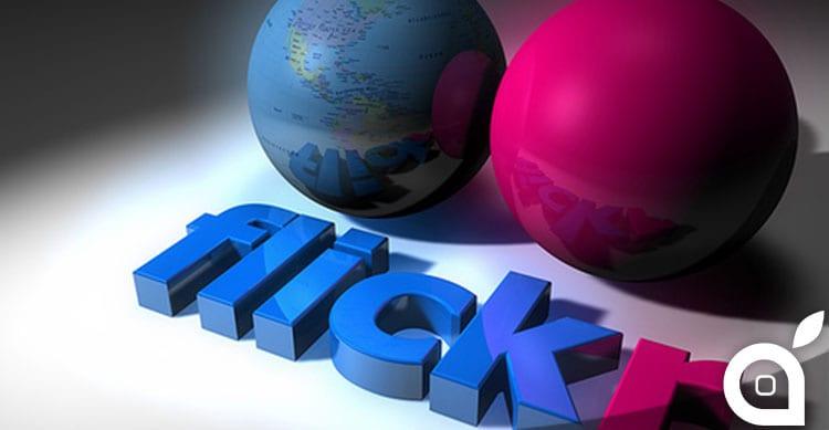 Flickr: aggiornamento importante sia per l'app che per il sito