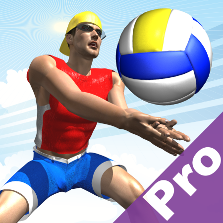 Beach Volley Pro, gioca a pallavolo su iPhone ed iPad [Video]   Quickapp