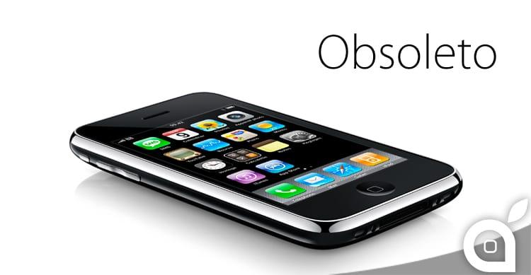 iPhone 3G e 3GS non saranno più supportati da Apple dal 9 Giugno