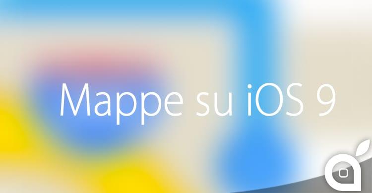 Mappe su iOS 9 imparerá le nostre abitudini