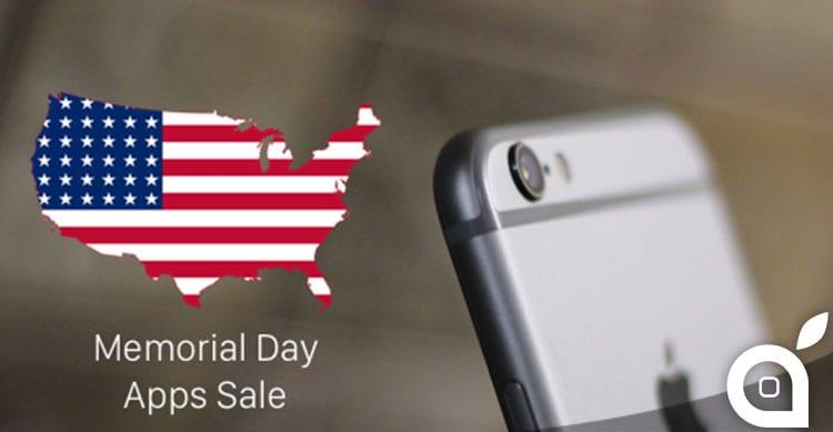 memorial day app sale
