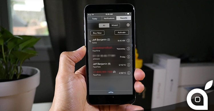 Visualizza l'elenco chiamate nel centro notifiche grazie a Recents | Cydia [Video]